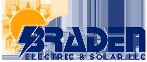 Logo for Braden Electric & Solar LLC